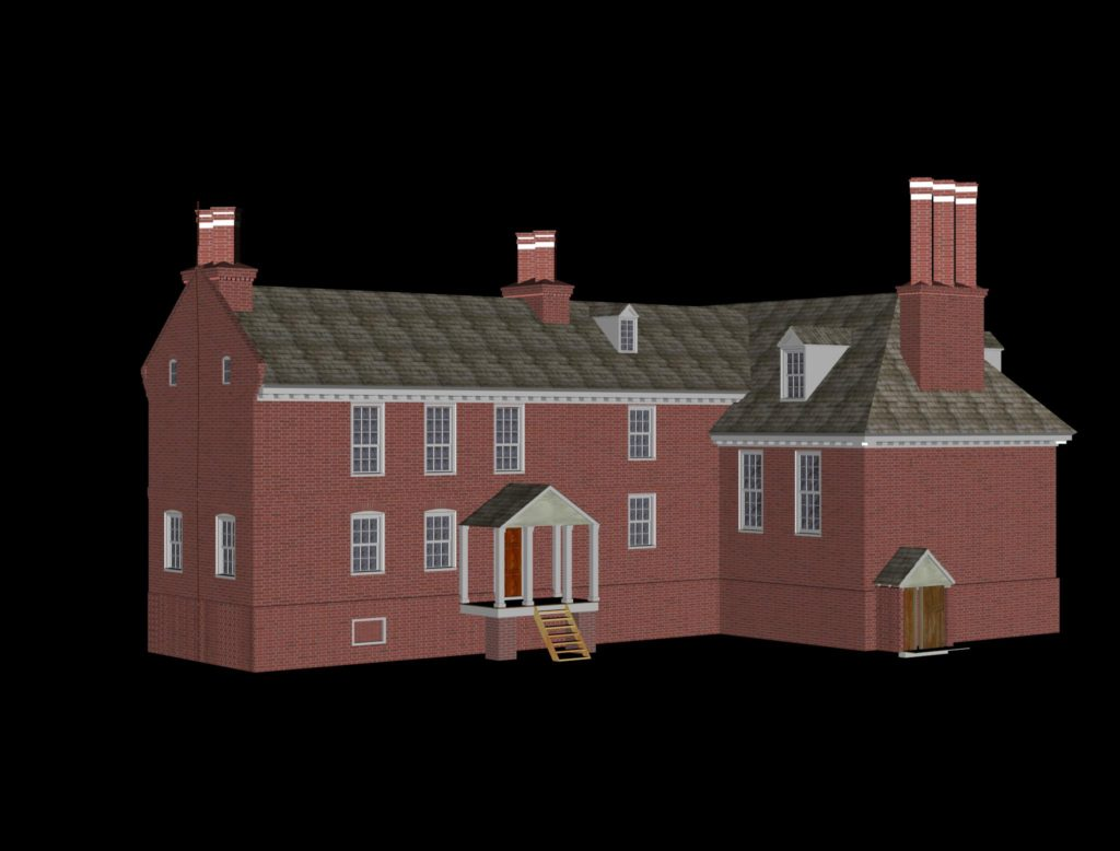 From Picture to Print: Developing a New Model of Fairfield Plantation